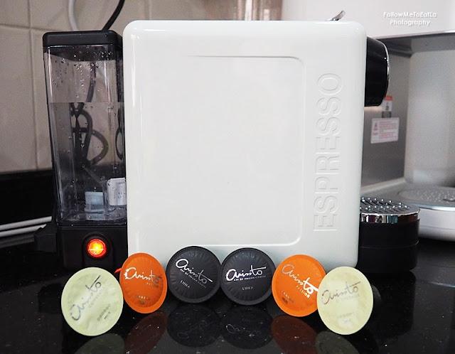 ARISSTO Capsule Coffee Machine Happy Maker  -  The Revolutionary Premium Coffee Maker