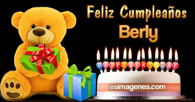 Feliz Cumpleaños Berly