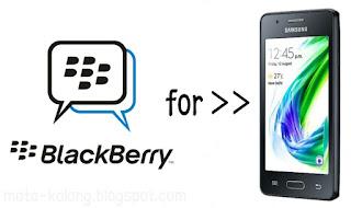 Cara install aplikasi BBM di Samsung Z2