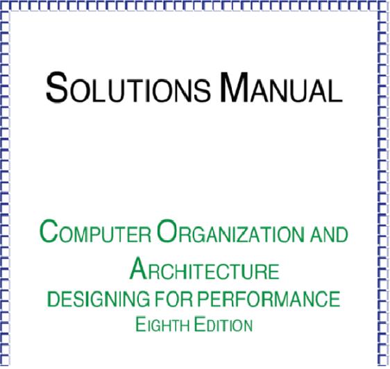 Ebook For Computer Organization