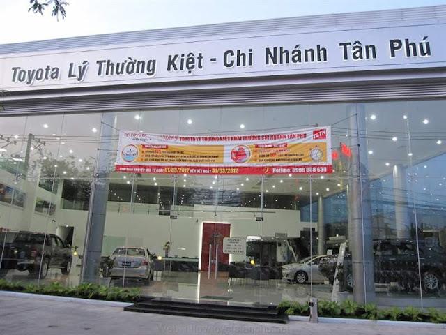 Chi nhánh Toyota Lý Thường Kiệt - Chi nhánh Tân Phú
