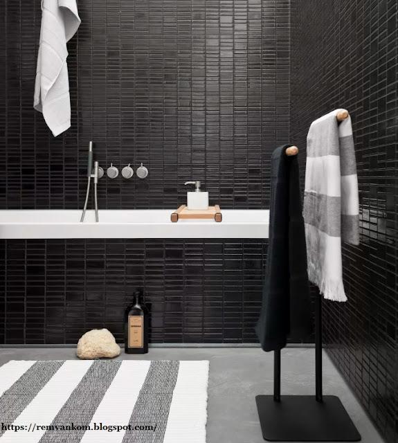 Ванная комната в черном цвете? Как этим цветом улучшить ванную комнату - Техника