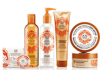Gel Douche et Bain - Muscade et Vanille - The Body Shop