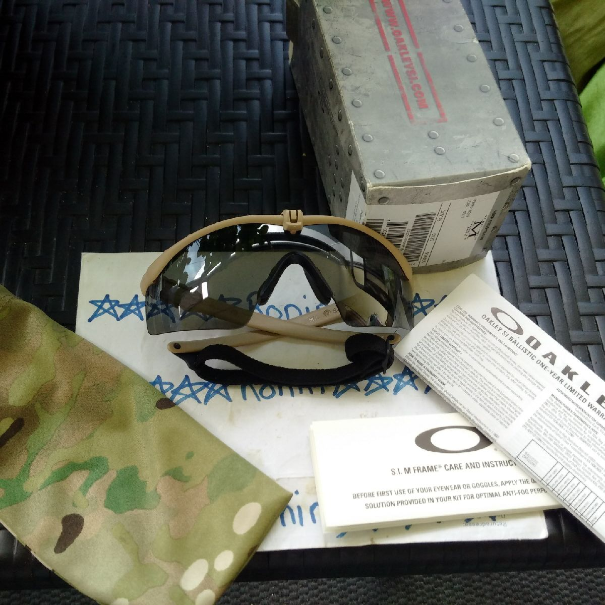 Ronin Tactical\'s New Site: OAKLEY STANDARD ISSUE SI BALLISTIC M ...