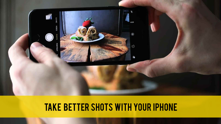 Tips and Apps to Take Better Shots with your Iphone