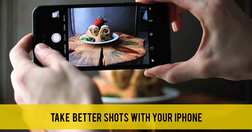 how to take food photos with iphone