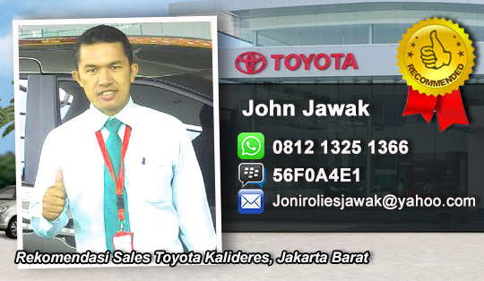 Rekomendasi Sales Toyota Kalideres, Jakarta Barat