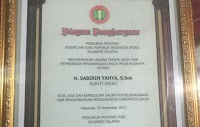 Bupati Sinjai Raih Penghargaan Dwija Praha Nugraha