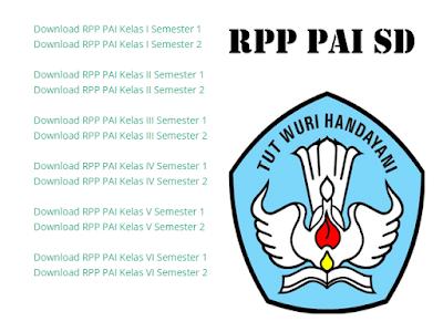 RPP KTSP SD MAPEL PAI