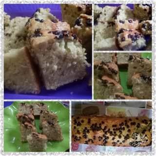 resep banana cake sederhana