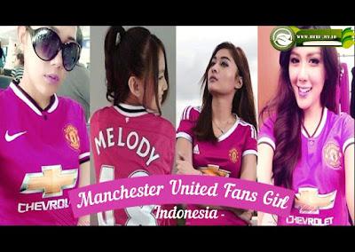 4 Artis Tercantik Indonesia ini Ternyata Fans Manchester United Sejati