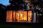 ニュージーランド建築家によるコンテナハウスの初期は1boxユニットタイプ