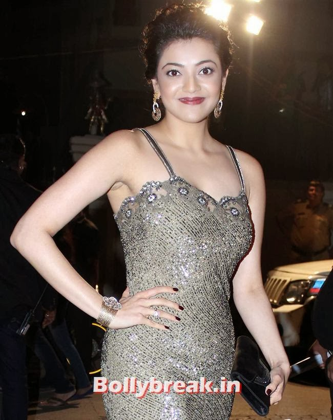Kajal Agarwal, Filmfare Awards 2014 Red carpet Images