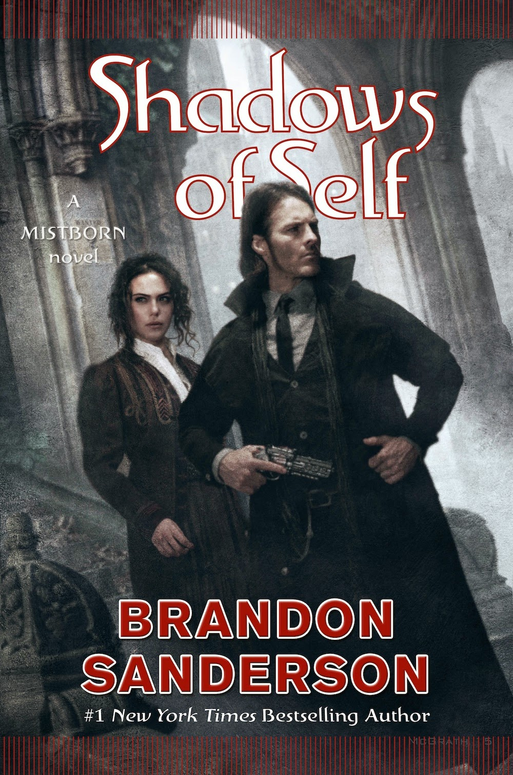 Cover of Shadows of Self (Mistborn) by Brandon Sanderson