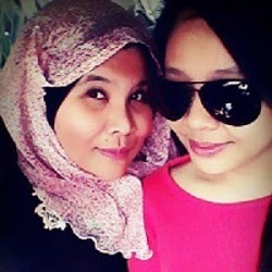 With Izzaty Diana my Bestie