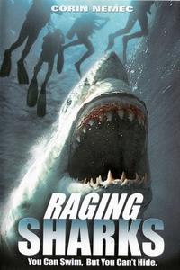Poster Raging Sharks