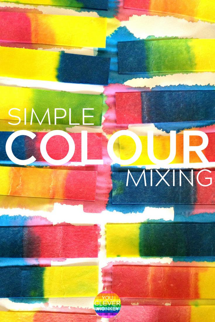 Hands-on Way to Learn How to Make Secondary Colours | you clever monkey