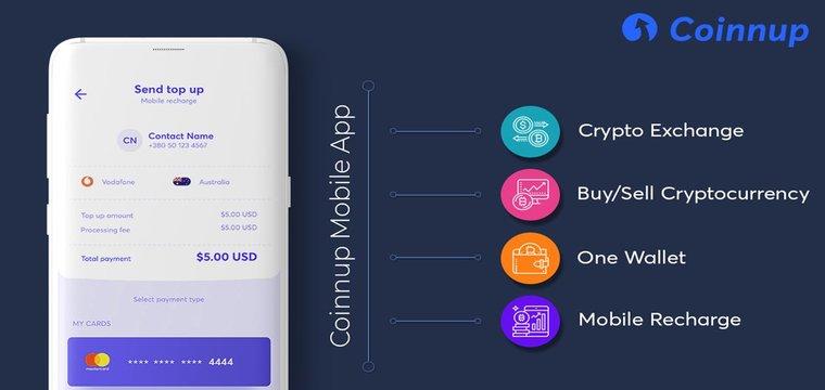 ICO Coinnup - Platform Dengan Berbagai Layanan Crypto Dan Fintech