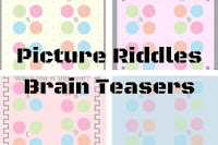 Picture riddles brain teasers for kids