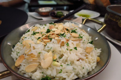 Boca, almond rice