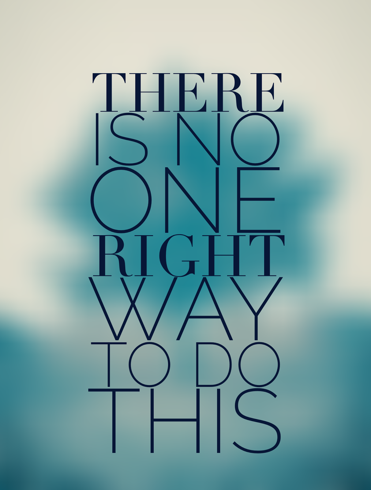 "3Rs Blog Credo: ""There is no one right way to do this"""