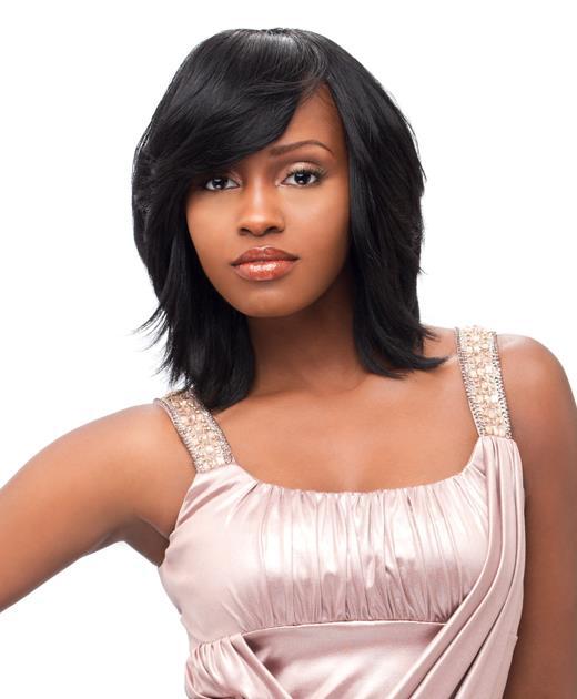 14 exemple de cheveux noire lissées - Afro Coiffure - Coupes pour Homme et Femme Black