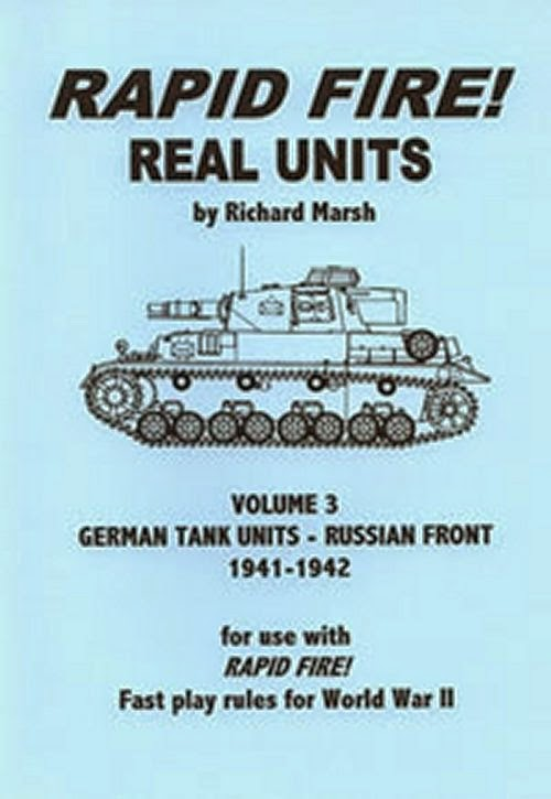 Rapid Fire German Tank Units - Russian Front 1941 - 1942