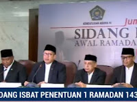 Hasil Sidang Isbat 2018 Tanggal Mulai Awal Puasa Ramadhan Kamis 17 Mei 2018