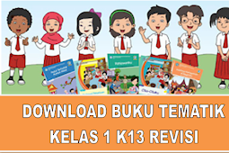 Download Buku K13 Kelas 1 SD Revisi Terbaru