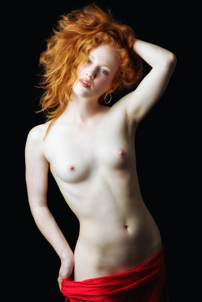 Pale redheads with big tits