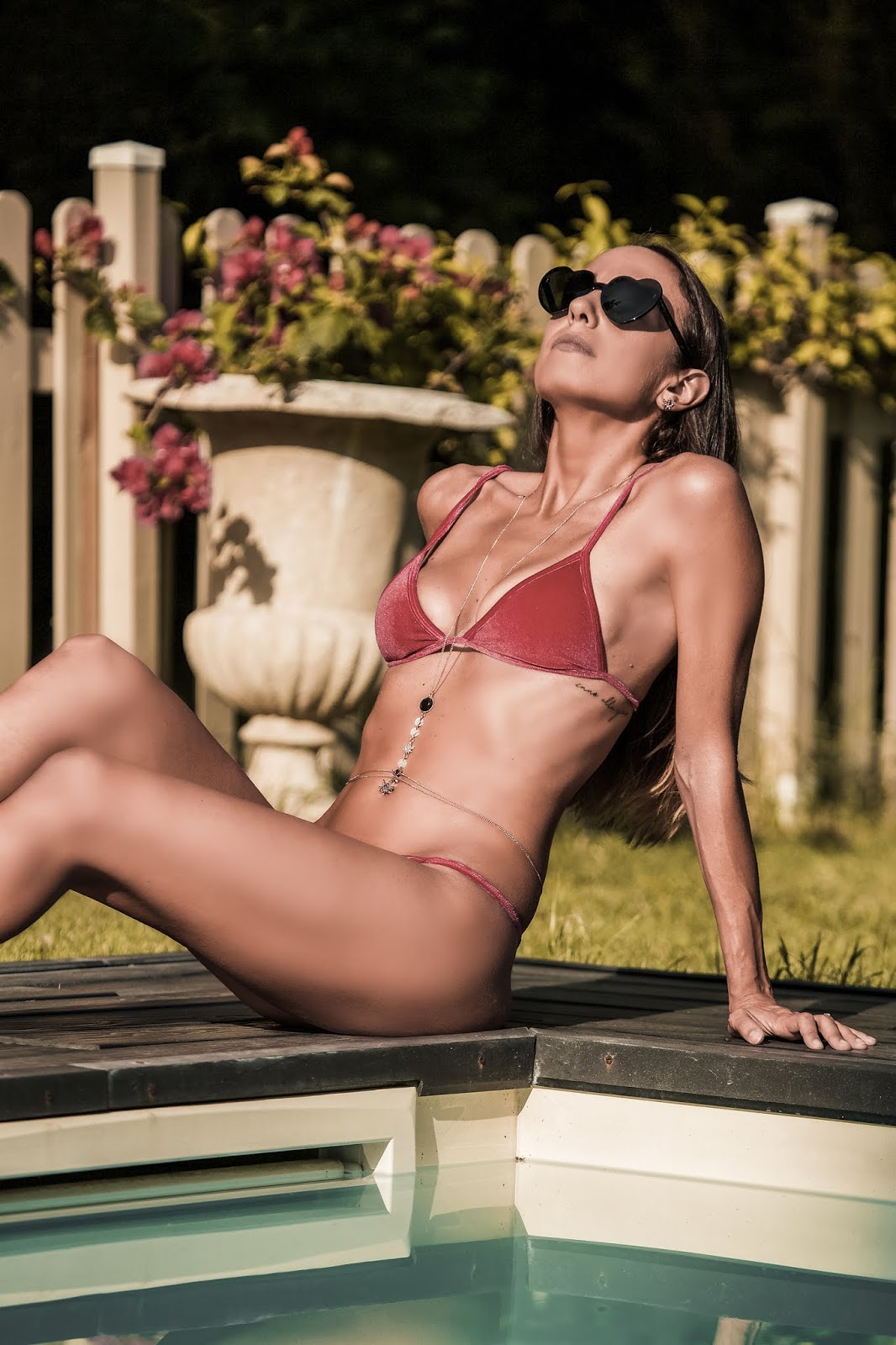 bikini in velluto