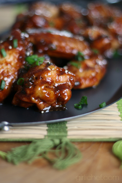 Chinese Barbecue Wings | www.girlichef.com