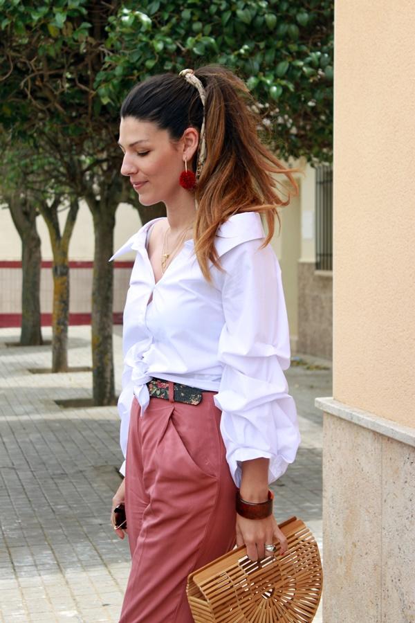 Blusa, camisa escote barco, look primavera
