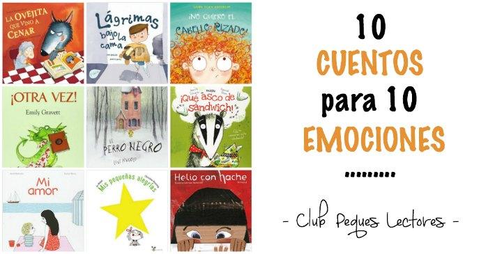 10 cuentos infantiles sobre 10 emociones, educacion emocional niños