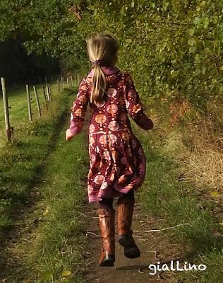 Herbstimpressionen AUF Kleid