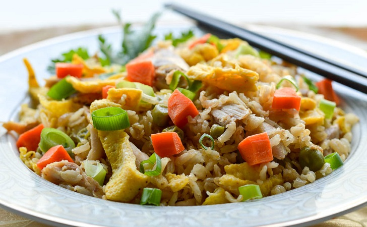 Chicken Fried Rice Recipe Made With Leftovers