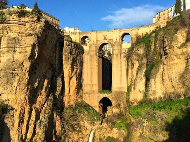 View of the Gorge Tajo de Ronda
