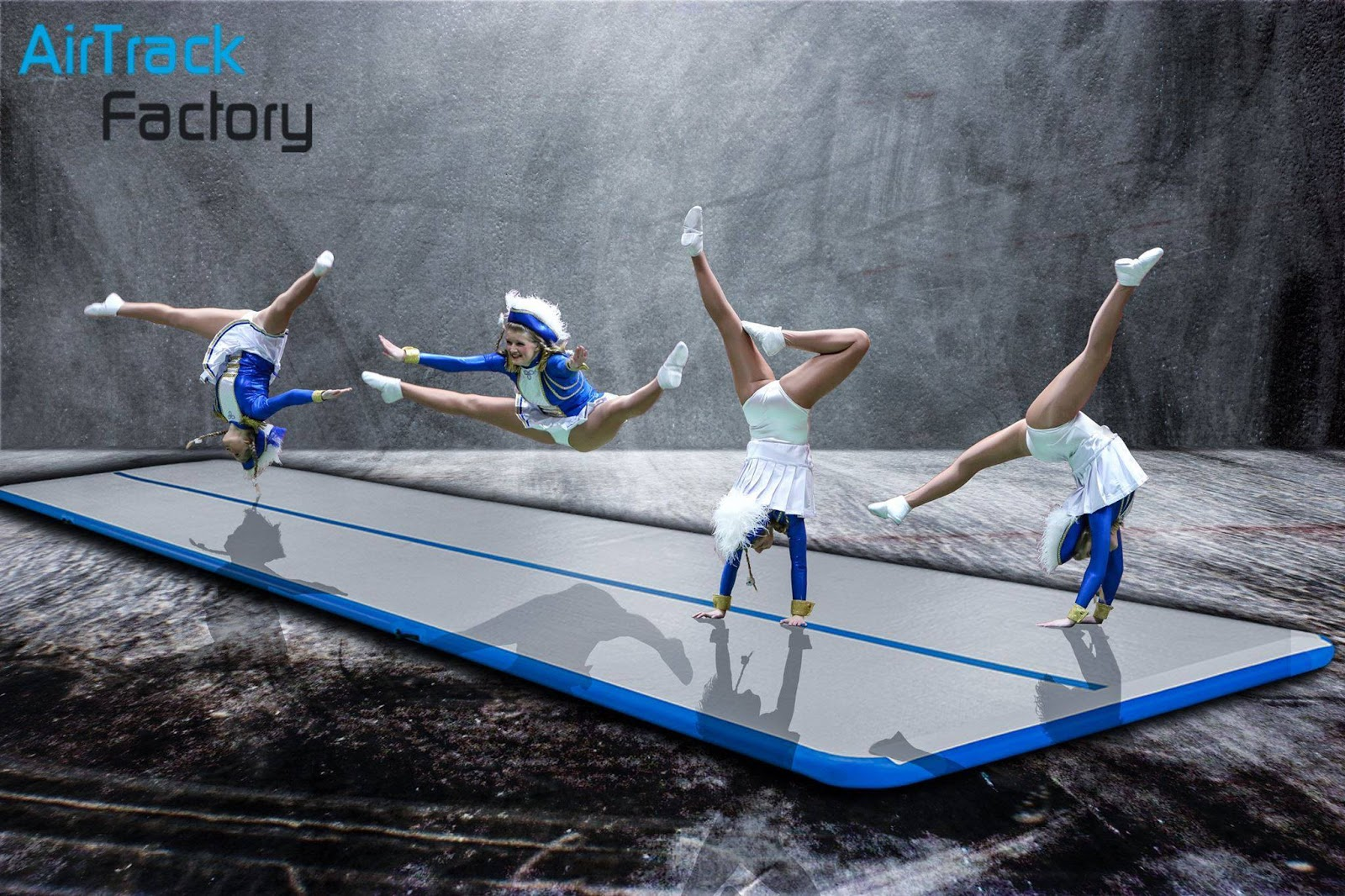 China Inflatable Air Track Mat for Swimming Pool Gymnastics