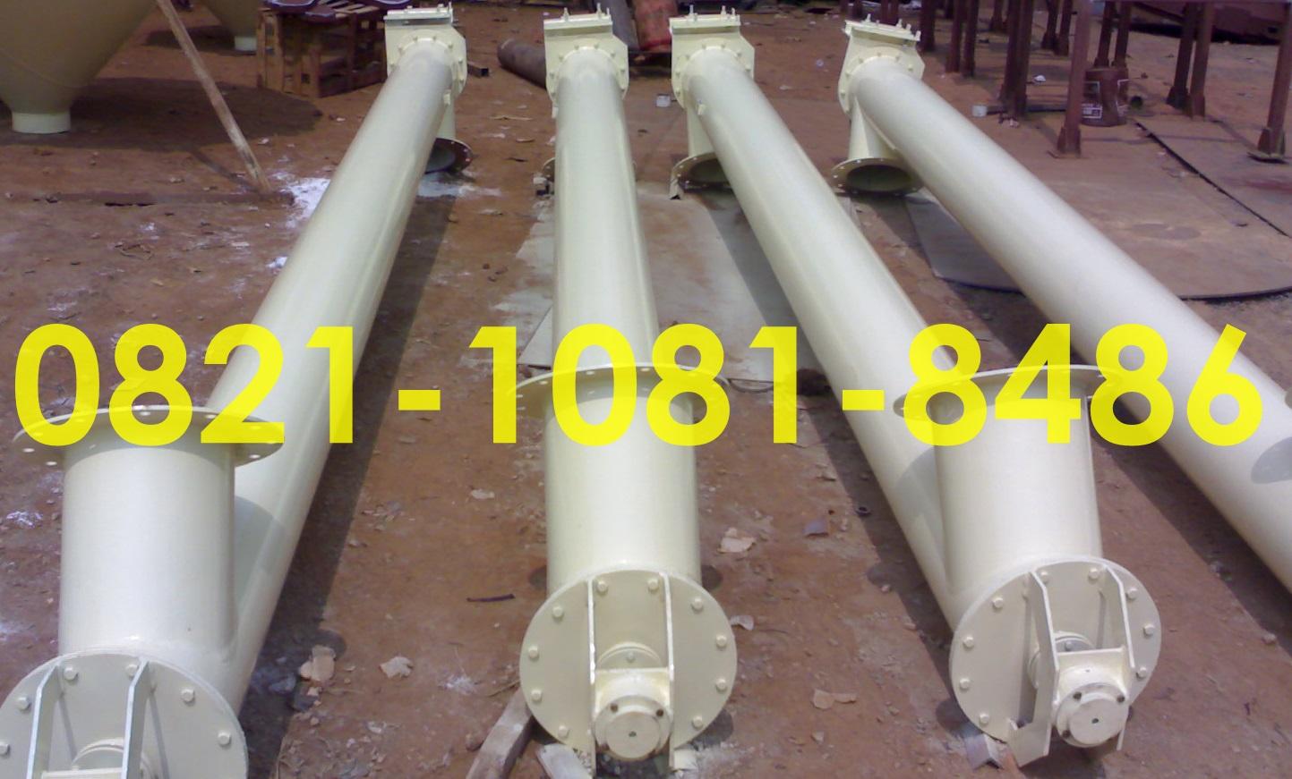 Jasa Fabrikasi Screw Conveyor Wilayah Bekasi Dan Sekitarnya