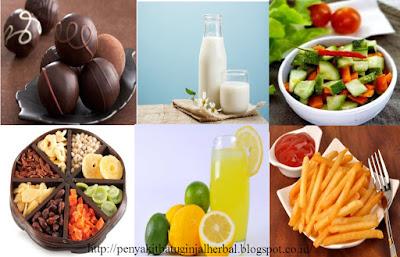 Pantangan Makanan Penderita Asma Bronkial