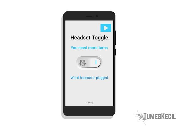 Cara Mengatasi Ikon Headset Tidak Mau Hilang