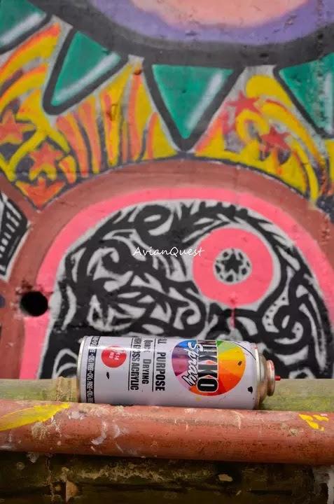 Tamawan Village Making of a Graffitti Mural Baguio City Philippines 10