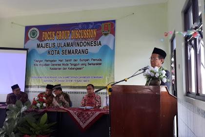 MUI Kota Semarang Gelar FGD Hari Santri dan Sumpah Pemuda