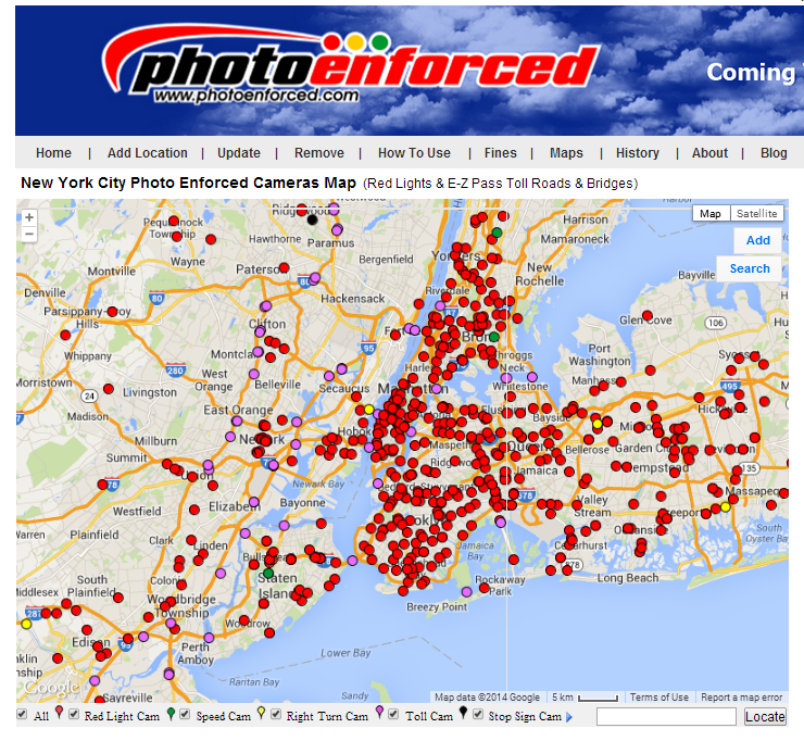 200+ Speed Cameras Coming To New York Metro Area