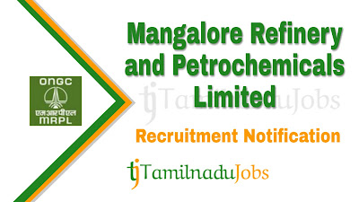 MRPL Recruitment notification 2019, govt jobs for engineers, govt jobs for diploma, govt jobs in tamil nadu, central govt jobs