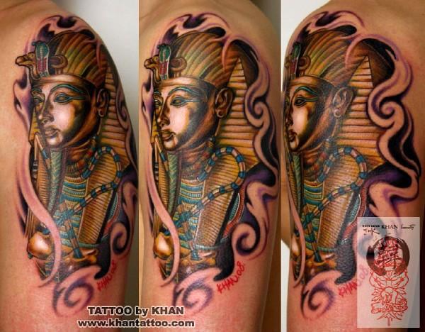 Impressionante Egipcio, O Projeto Da Tatuagem