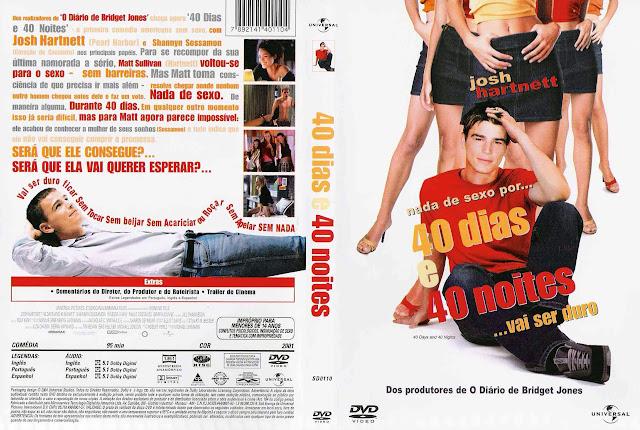 Capa DVD 40 dias e 40 noites