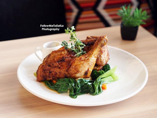 SynFull Roast Chicken Quarter RM 26 Half RM 35