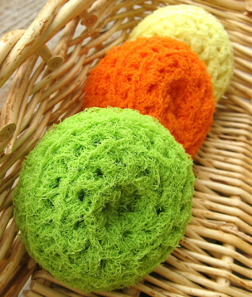 Nylon Net Scrubbies - Tutorial