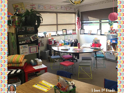 classroom tour; back to school